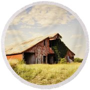 Englewood Barn Round Beach Towel by Cricket Hackmann