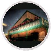 Englewood Theater 4507 Round Beach Towel