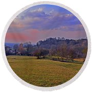 Cotswold Light Round Beach Towel