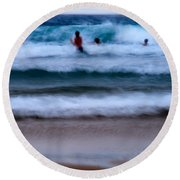 enjoy the ocean I Round Beach Towel