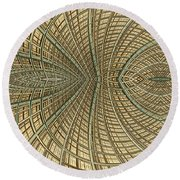 Enmeshed Round Beach Towel