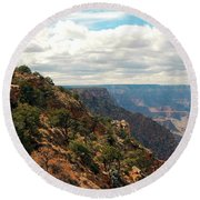 Environment Of The Canyon Round Beach Towel