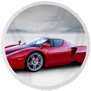 Enzo Round Beach Towel