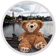 Epcot Bear Round Beach Towel