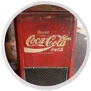 Epcot Old Coke Round Beach Towel