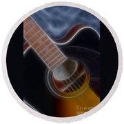 Epiphone Acoustic-9481-fractal Round Beach Towel
