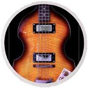 Epiphone Viola Bass Guitar Round Beach Towel