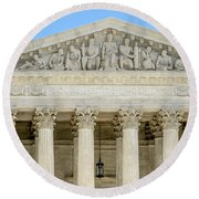 Equal Justice Under Law II Round Beach Towel