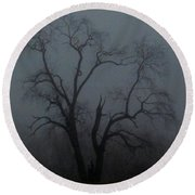 Erie Arbor Elder Round Beach Towel