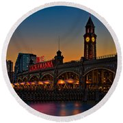 Erie Lackawanna Round Beach Towel