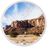 Escalante Canyon Round Beach Towel