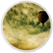 Escapism Round Beach Towel