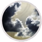 Eternal Hope Round Beach Towel
