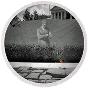 Eternal Remembrance Round Beach Towel