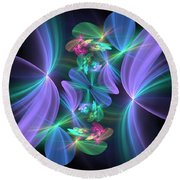 Ethereal Dreams Round Beach Towel