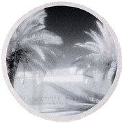 Ethereal Dream Round Beach Towel