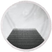 Ethereal Sky Round Beach Towel