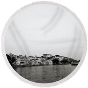 Ethereal Udaipur Round Beach Towel