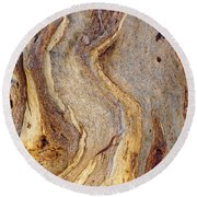 Eucalyptus Bark Round Beach Towel
