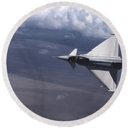 Eurofighter  Round Beach Towel