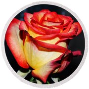 Event Rose 3 Round Beach Towel