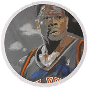 Ewing Round Beach Towel by Don Medina