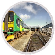 Exeter Tmd Round Beach Towel