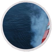 Exhaust Round Beach Towel