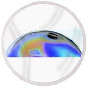 Eye Of The Gas Giant Round Beach Towel