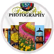 Eye On Fine Art Photography March Cover Round Beach Towel