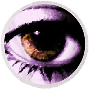Eye See Round Beach Towel