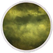 Eye Xix Round Beach Towel