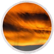Eyes Of Sauron Round Beach Towel