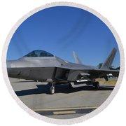 F-22 Raptor 2 Round Beach Towel