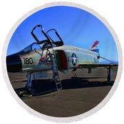 F-4 Phantom II No. 11 Round Beach Towel