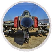 F-4c Phantom II Round Beach Towel