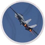 F14 Tomcat - Vf101 Grim Reapers Round Beach Towel