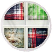Fabrics Round Beach Towel