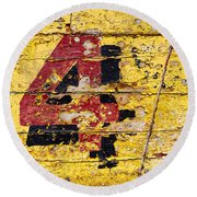 Faded Four Round Beach Towel