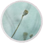 faded summer II Round Beach Towel