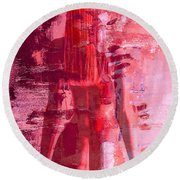 Fading Memories Round Beach Towel