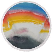 Fairground Attraction Round Beach Towel