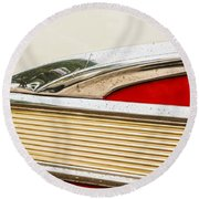 Fairlane Detail Round Beach Towel