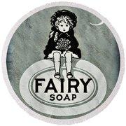 Fairy Soap Round Beach Towel
