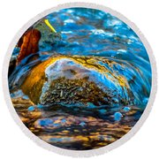 Fairy Tale Waters Round Beach Towel