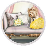 Fairytale  Round Beach Towel