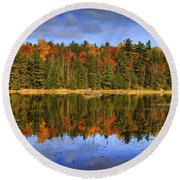 Fall.. Round Beach Towel