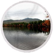 Fall Reflection II Round Beach Towel