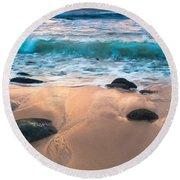 Fall Serene Round Beach Towel
