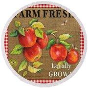 Farm Fresh-jp2380 Round Beach Towel